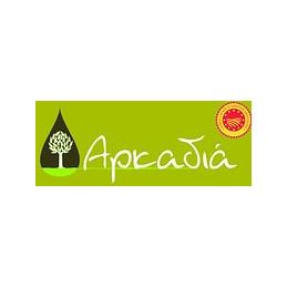 """Olives vertes  """"CHALKIDIKI"""" biologiques à l`huile d`olive ARCADIA - 215 GR"""