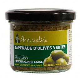 Tapenade verte bio à l`ail et à l'origan ARCADIA - 100 g