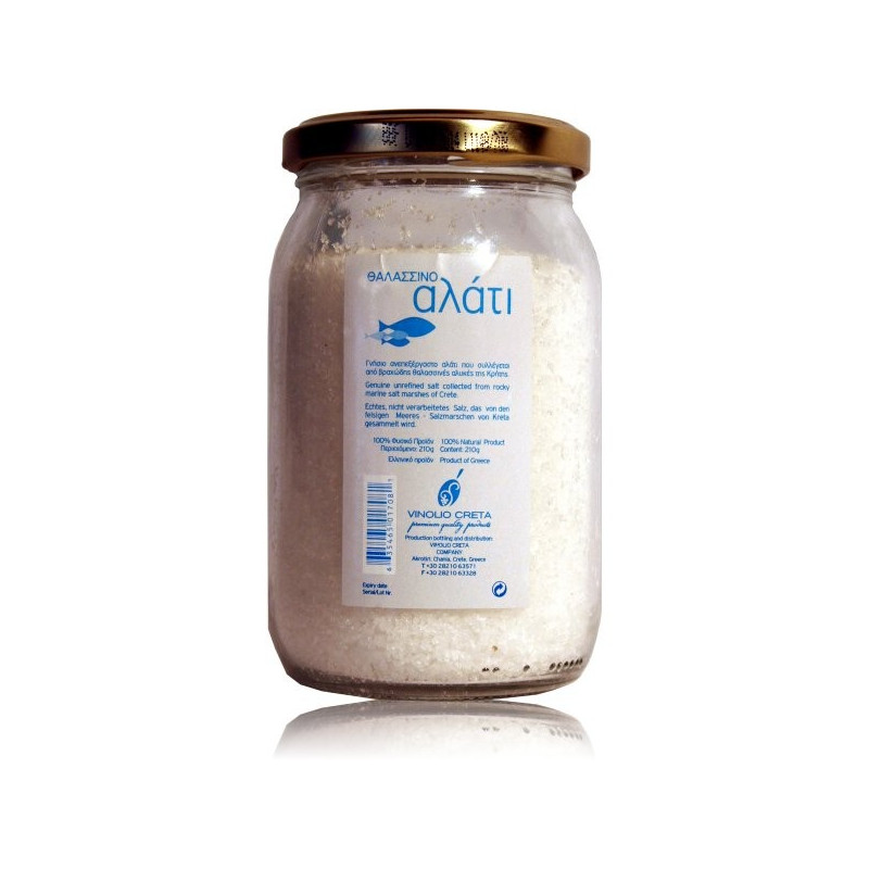 Sel de mer iod naturel non raffin ou fleur de sel for Desherbant naturel vinaigre sel