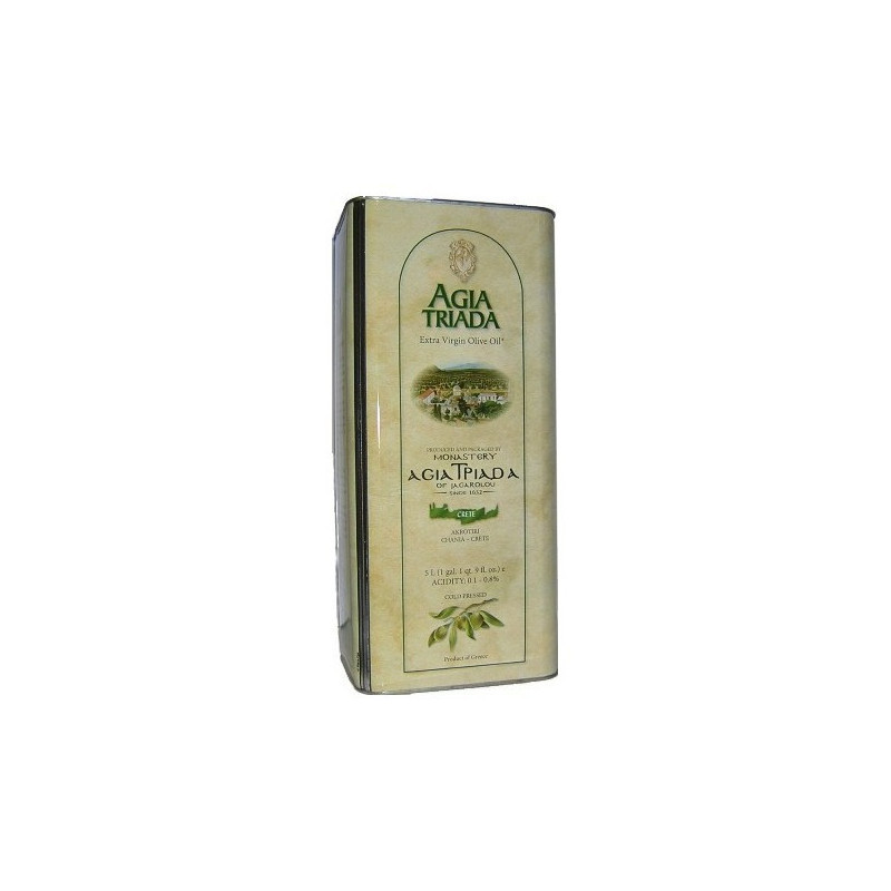 Huile d'olive de Crète - monastère AGIA TRIADA - BIDON 5 Litres