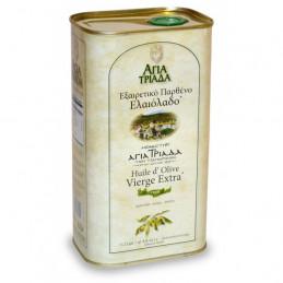 Huile d'olive vierge extra - Monastère AGIA TRIADA - Bidon 1 litre