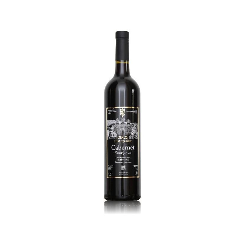 Vin bio de Crète rouge 2013 - Monastère de TOPLOU (Crète) - 75 CL