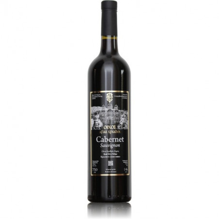 Vin de Crète rouge - AOP Chania - Monastère AGIA TRIADA (Crète) - 75 CL