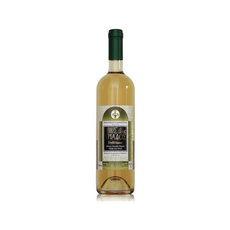 Vin de Crète blanc - AOP Chania- Monastère AGIA TRIADA (Crète) - 75 CL