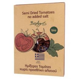 Tomates biologiques semi séchées sans sel ajouté - BIO AGROS - sachet 150 g