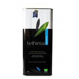 Huile d'olive grecque bio TELHINIA (Corinthe) - Bidon 5 litres