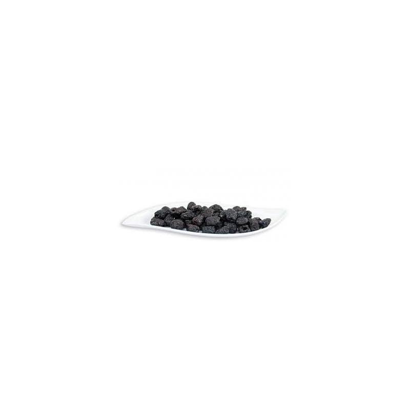 """Olives noires bio """"Thrumba"""" AOP à la grecque peu salées BIO AGROS - sachet refermable 1 kg"""