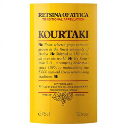 Retsina KOURTAKIS - 75 cl