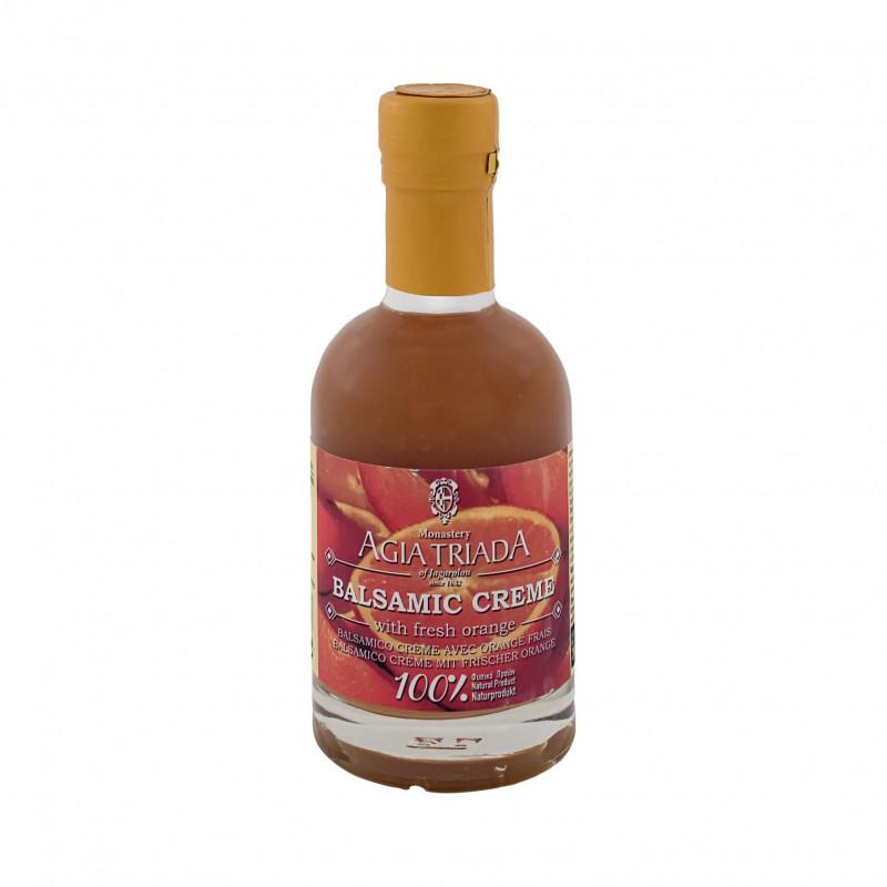 Crème de vinaigre balsamique crétois à l'orange fraiche AGIA TRIADA - 200 ml