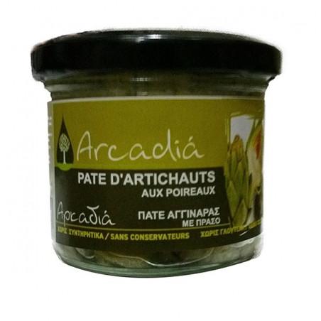 Crème d'artichauts aux poireaux - ARCADIA - 100 g