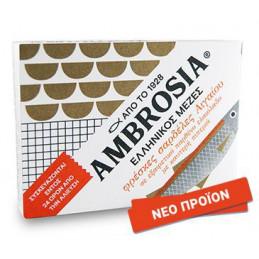 Sardines fraiches de l'Égée à l'huile d'olive vierge extra AMBROSIA - 100 g