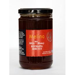 Miel grec bio d'arbousier - MELINO - 400 g