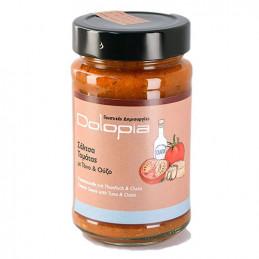 Sauce tomate au thon et à l'ouzo - DOLOPIA - pot 250 g