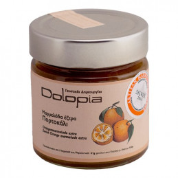 Marmelade d'orange douce - DOLOPIA - pot 280 g