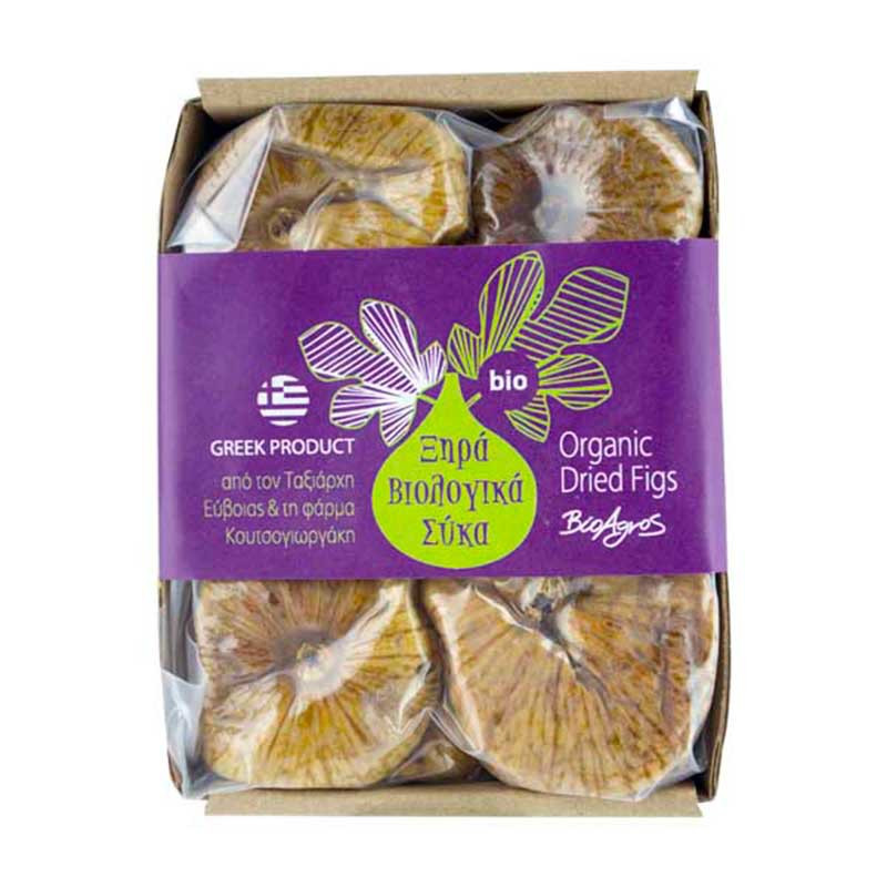 Figues blanches biologiques BIO AGROS - sachet 200 g