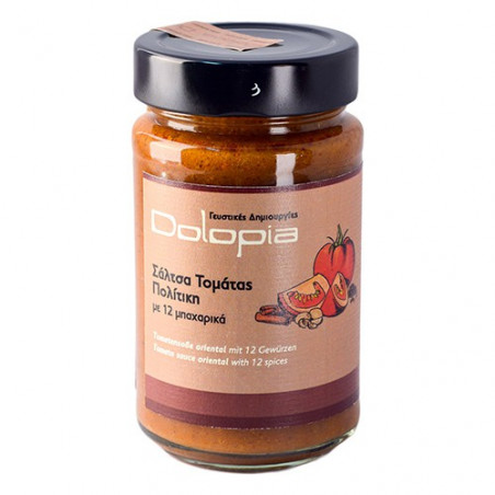 Sauce tomate aux 12 épices - DOLOPIA - pot 250 g