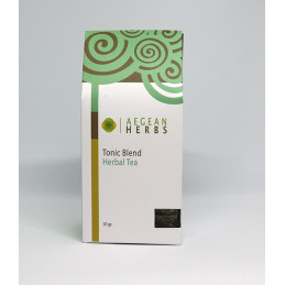"Tisane mélange de plantes  ""Tonus"" (thym, verveine, romarin, absinthe) - sachet 30 g"