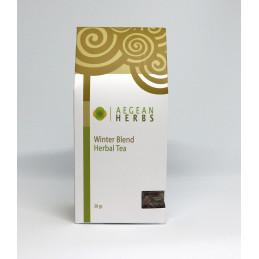 """Tisane mélange de plantes  """"Hiver"""" (sauge, dictame, millepertuis, olivier) - sachet 30 g"""