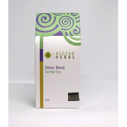 """Tisane mélange de plantes  """"Detox"""" (chardon, pissenlit, verveine, sauge) - sachet 30 g"""