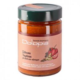 Sauce tomate aux olives et aux câpres - DOLOPIA - pot 350 g