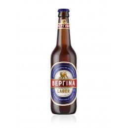 Bière blonde grecque VERGINA  - Bouteille 33 CL
