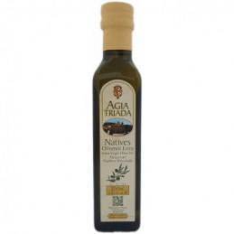 Huile d'olive vierge extra - Monastère AGIA TRIADA - Bouteille 250 ml