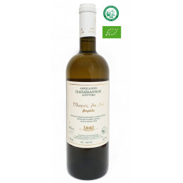 Vin blanc grec Néméa biologique cépage Assyrtiko barrique AOP Corinthe